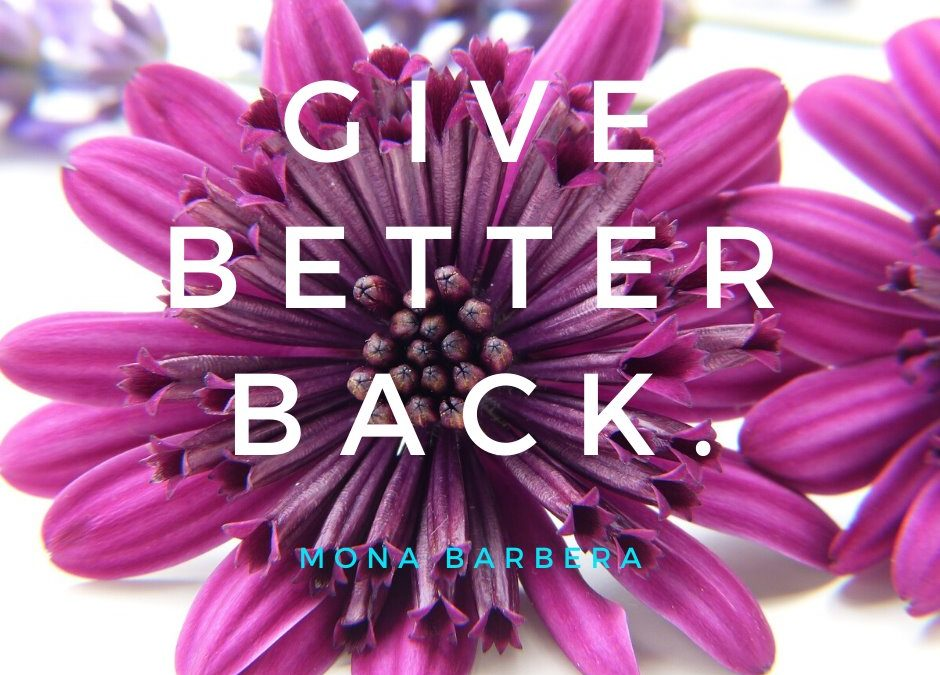 Give Better Back